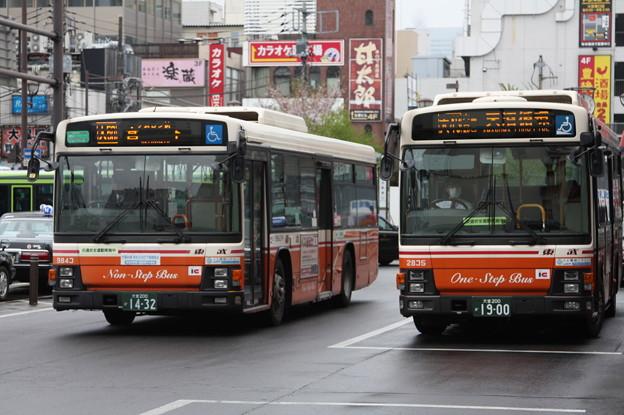 東武バス 9843号車・2835号車