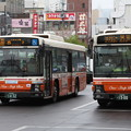 Photos: 東武バス 9843号車・2835号車