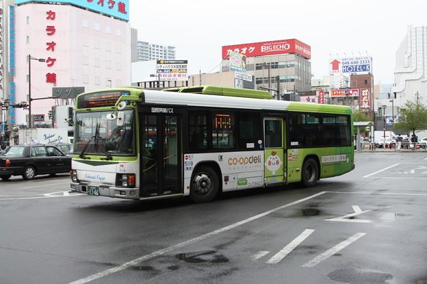 国際興業バス 5119号車 コープデル ラッピング