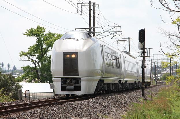 651系K201編成 9722M 快速足利大藤まつり号 (3)