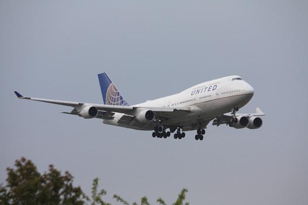 ユナイデッド航空 ボーイング747-400 N181UA