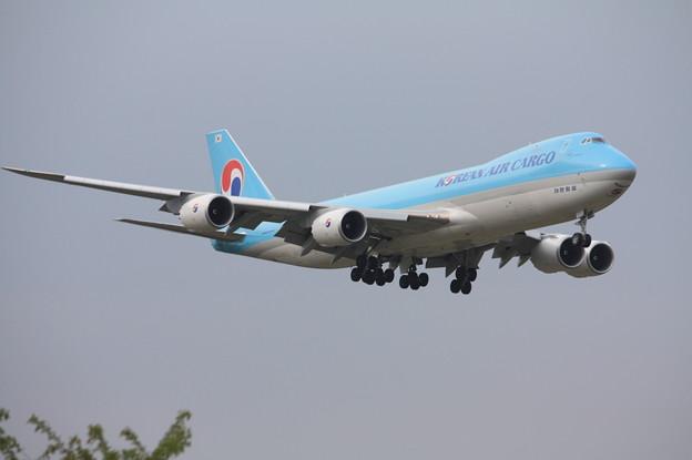大韓航空カーゴ ボーイング747-8F HL7639