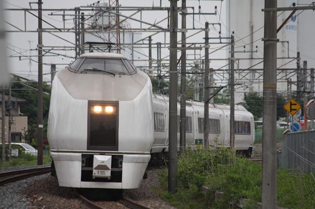651系K105編成 9114M 急行ぶらり横浜・鎌倉号 (4)