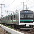 Photos: 常磐線 E501系K701編成 553M 普通高萩行