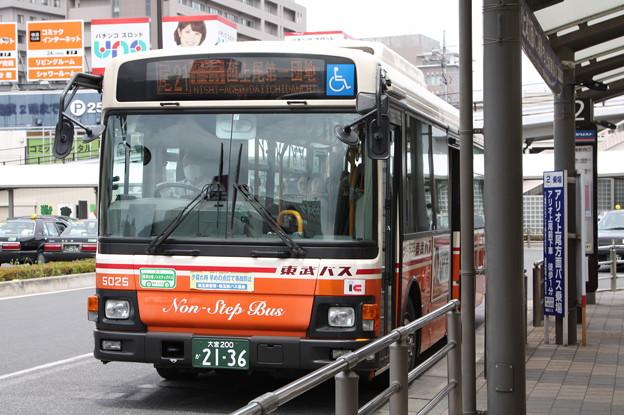 東武バス 5025号車