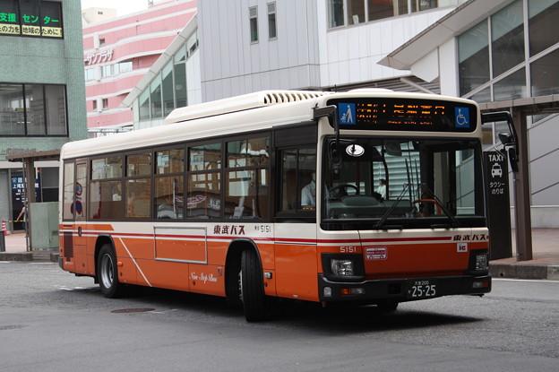 東武バス 5151号車
