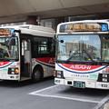 Photos: 朝日バス 2329号車・2263号車