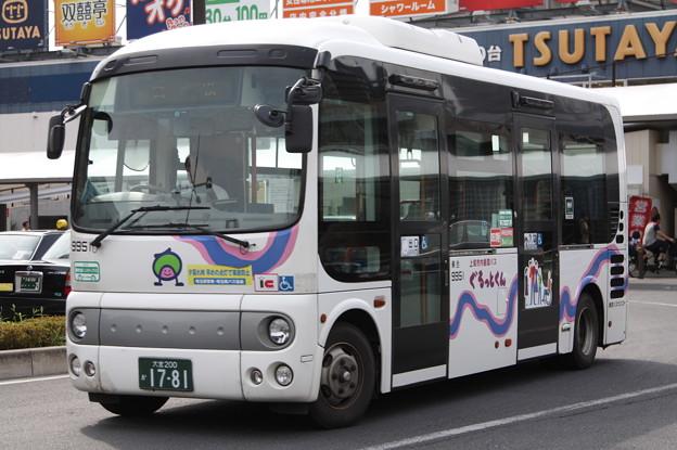 東武バス ぐるっとくん 9951号車