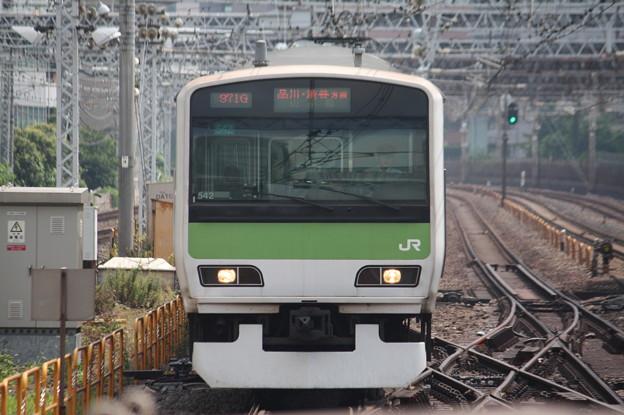 山手線 E231系500番台トウ542編成