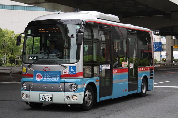 京浜急行バス Y4724号車