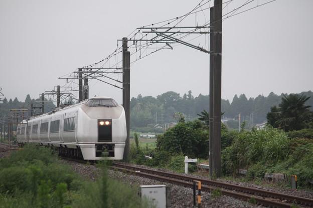 651系K105編成 9401M 急行 ロックインジャパン号