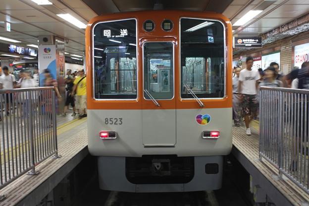 阪神本線 8000系8523F