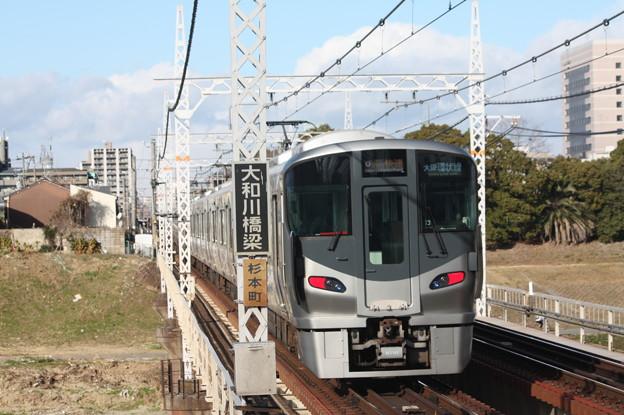 阪和線 225系5100番台 関空・紀州路快速 天王寺 行