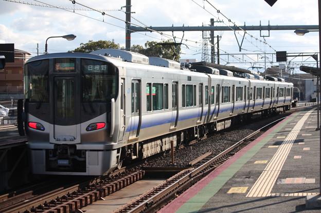 阪和線 225系5100番台 区間快速 日根野 行