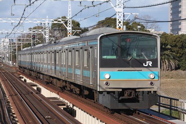 阪和線 205系 普通 鳳 行