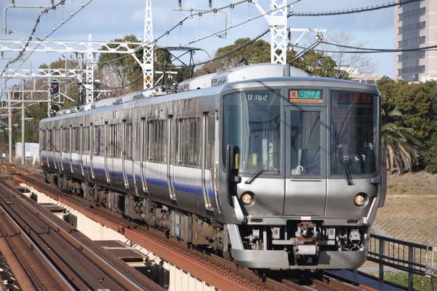 阪和線 223系 区間快速 日根野 行