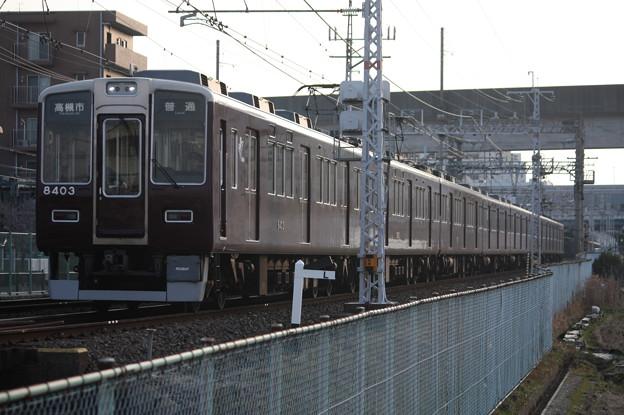 阪急京都線 8300系8303F 普通 高槻市 行