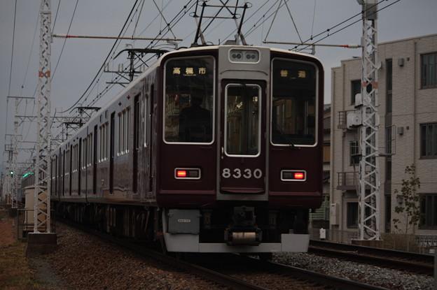 阪急京都線 8300系8330F 普通 高槻市 行