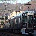 阪急神戸線 9000系9004F 通勤急行 阪急梅田 行