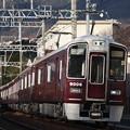 阪急神戸線 9000系9006F 通勤急行 阪急梅田 行