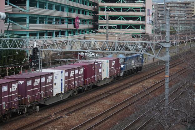 EF210コンテナ貨物列車 (1)