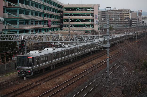 JR京都線 223系2000番台 新快速 近江今津 行