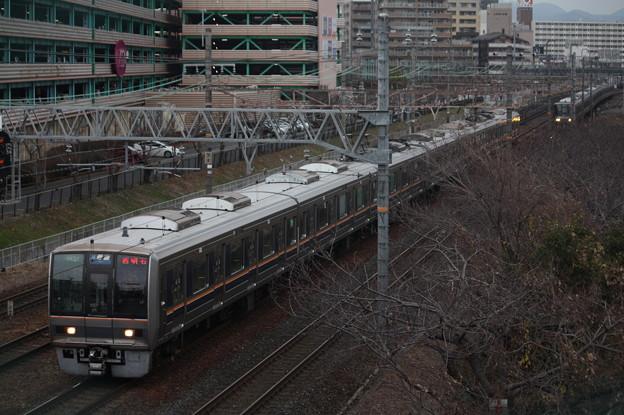 JR京都線 207系1000番台S51編成 普通 西明石 行
