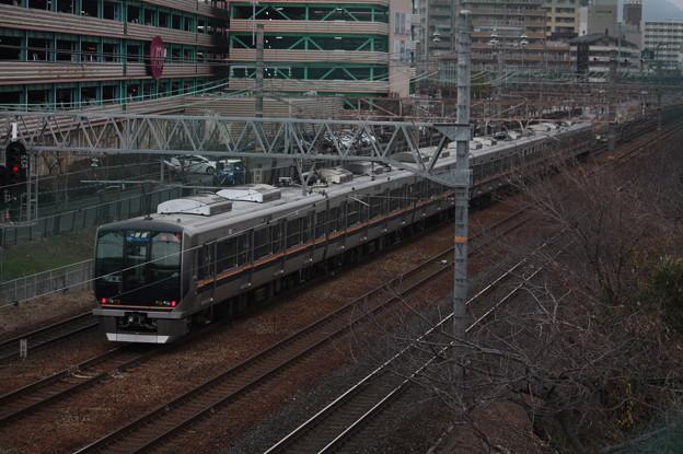 JR京都線 321系 普通 高槻 行