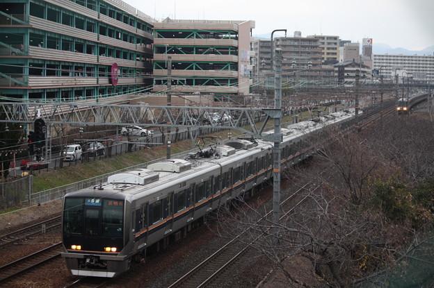 JR京都線 321系D3編成 普通 西明石 行