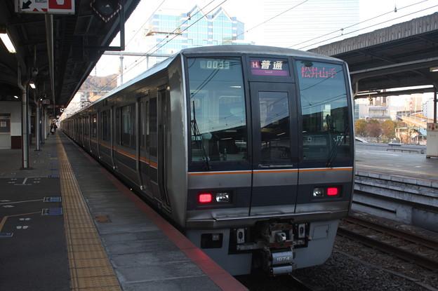 JR神戸線 207系1000番台S55編成