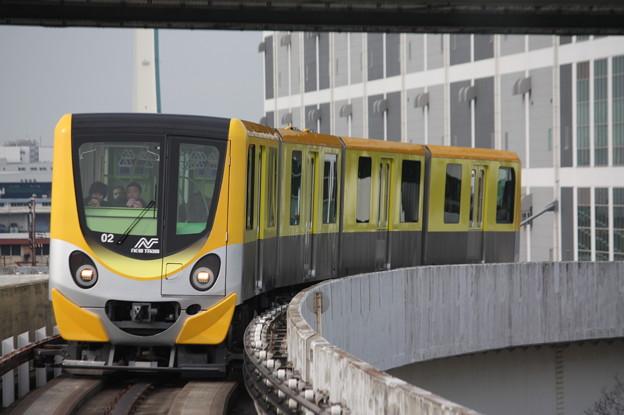 ニュートラム南港ポートタウン線 200系201-02F
