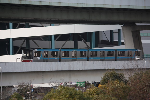 ニュートラム南港ポートタウン線 100A系101-32F (1)