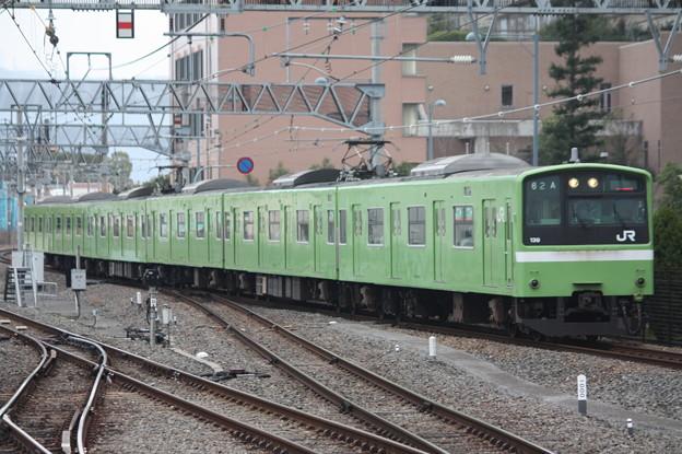 関西線 201系ND614編成 普通 JR難波 行