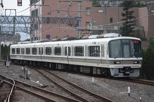 関西線 221系NA409編成 快速 JR難波 行