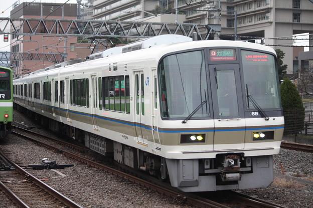 関西線 221系NB809編成 大和路快速 天王寺方面 行