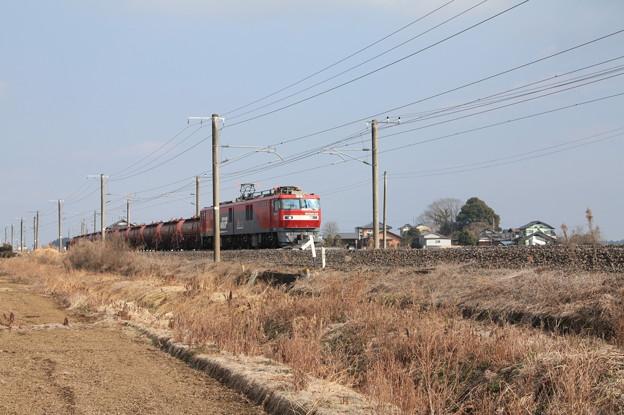安中貨物 5094レ EH500-28+タキ+トキ+トキ(カバー無)