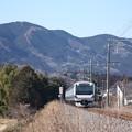水戸線 E531系3000番台K556編成 735M 普通 水戸 行 (1)