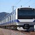 水戸線 E531系3000番台K556編成 735M 普通 水戸 行 (3)