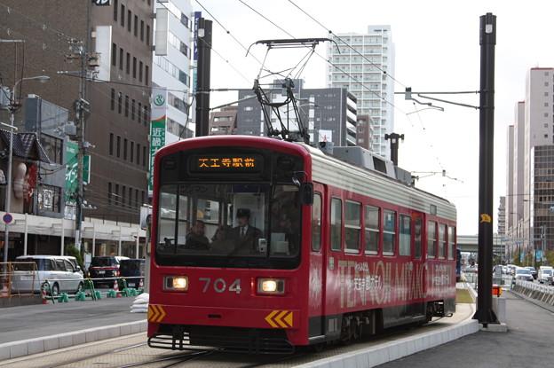 阪堺電気軌道 モ701形704