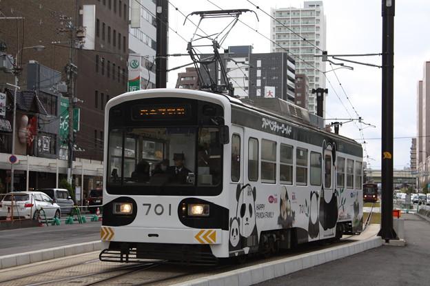 阪堺電気軌道 モ701形701