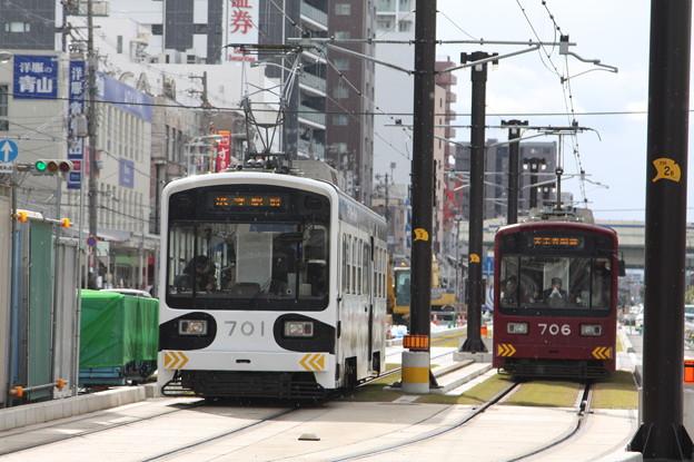 阪堺電気軌道 モ701形701・706