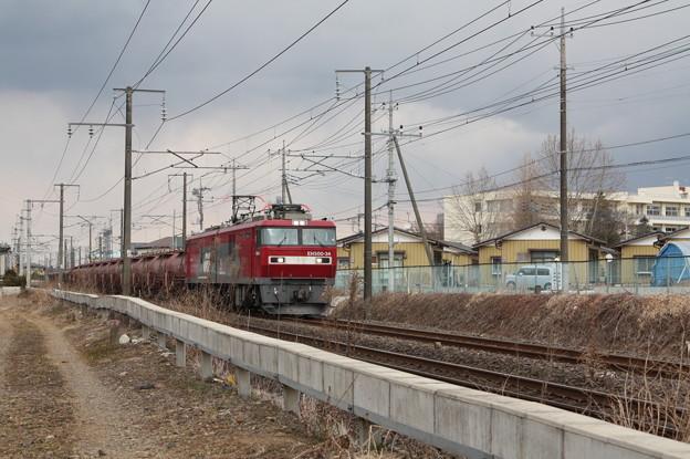 安中貨物 5094レ EH500‐34+タキ+トキ (3)