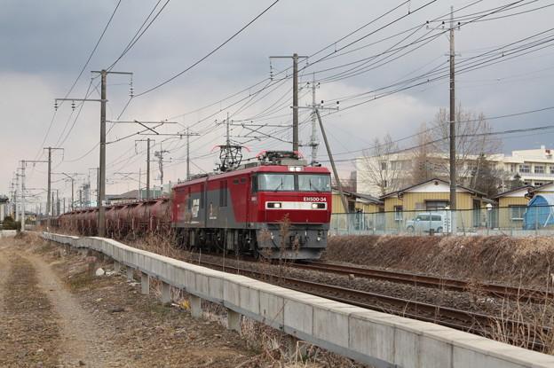 安中貨物 5094レ EH500‐34+タキ+トキ (5)
