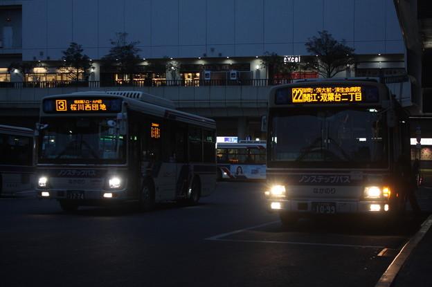 茨城交通 水戸200か1774・水戸200か1099