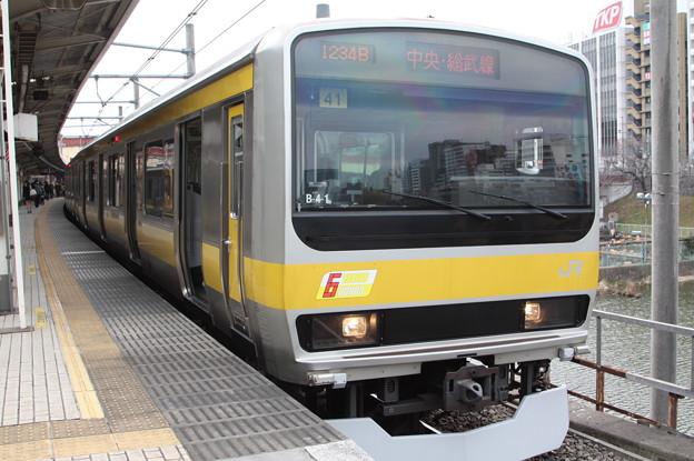 中央・総武緩行線 E231系ミツB41編成