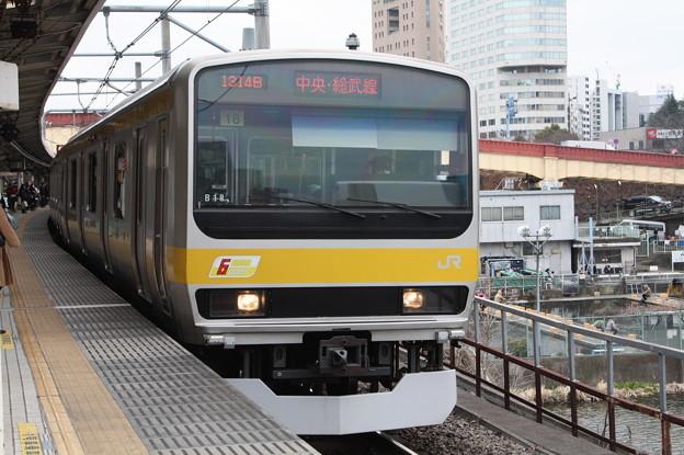 中央・総武緩行線 E231系ミツB18編成