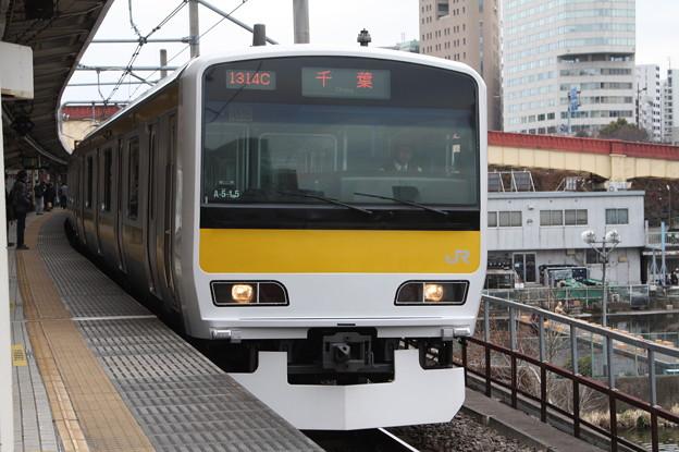 中央・総武緩行線 E231系500番台ミツA515編成