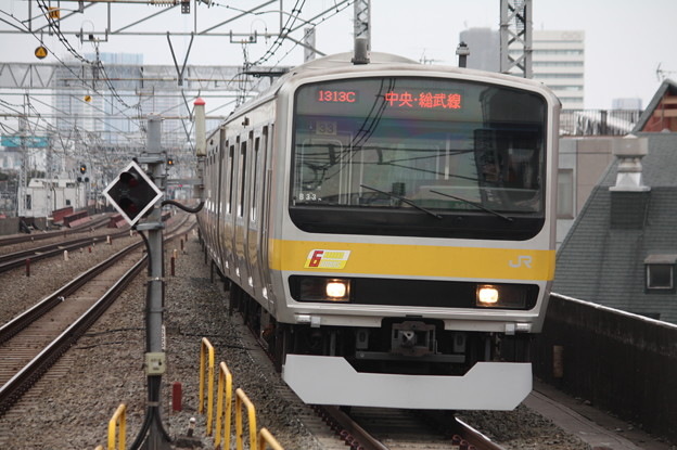 中央・総武緩行線 E231系ミツB33編成