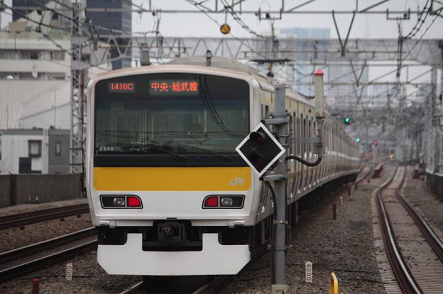 中央・総武緩行線 E231系500番台ミツA540編成