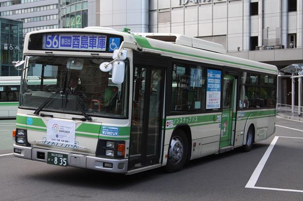 大阪市営バス 36-0835号車